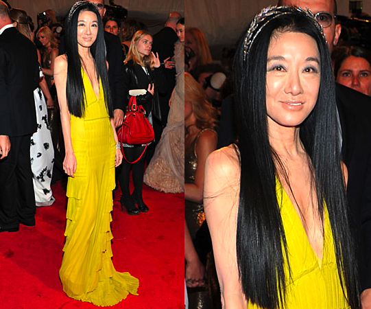 Vera Wang in ? (Her own design possibly?)