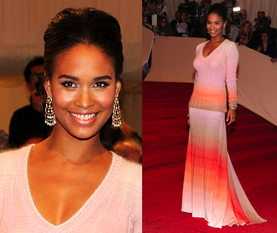 Joy Bryant in Missoni